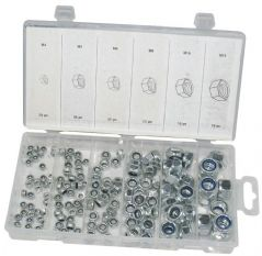 DURATOOL D01904  Nut Set Locking 146Pc